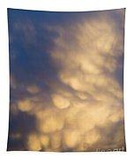 Bizarre Clouds Tapestry