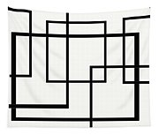 Black And White Art - 146 Tapestry