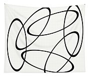 Black And White Art - 148 Tapestry