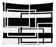 Black And White Art - 151 Tapestry