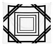 Black And White Art 175 Tapestry