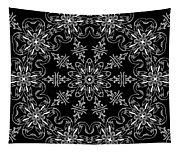 Black And White Medallion 11 Tapestry