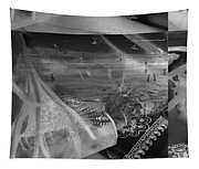 Black And White Moments Tapestry