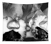 Black And White Orchids Tapestry