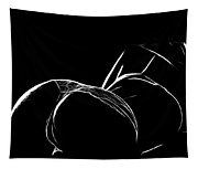 Black And White Pleasure Tapestry