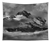 Black And White Tantalus Storms Tapestry