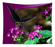 Black Butterfly 06 Tapestry