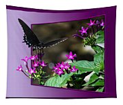 Black Butterfly 07 Tapestry