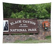 Black Canyon Of The Gunnison National Park Tapestry