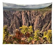Black Canyon Spires Tapestry