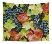 Black Grapes Tapestry