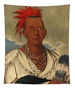 Black Hawk. Prominent Sauk Chief. Sauk And Fox Tapestry