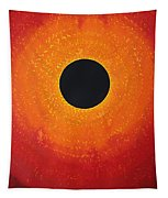 Black Hole Sun Original Painting Tapestry