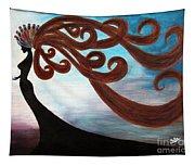 Black Magic Woman Tapestry