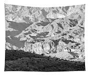 Black Mountains Of Arizona Tapestry