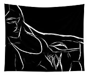 Black Passion Tapestry
