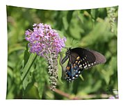 Black Swallowtail Tapestry