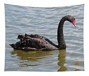 Black Swan Square Tapestry