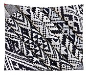 Black Thai Fabric 03 Tapestry