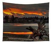 Blazing Sunset II Tapestry