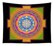 Bliss Yantra Tapestry