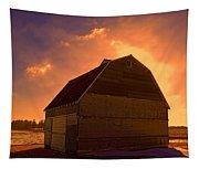 Blocked Sunrise Tapestry