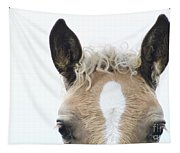 Blonde Horse Tapestry
