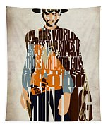 Blondie Poster From The Good The Bad And The Ugly Tapestry