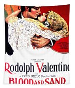 Blood And Sand 1922 Tapestry