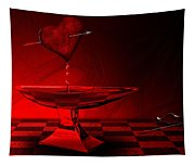 Blood Of Love Tapestry