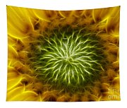 Bloom Of The Sunflower Tapestry