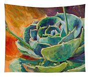 Blooming Hen Tapestry