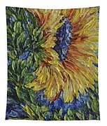 Blooming Sunflower Tapestry