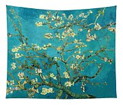 Blossoming Almond Tree Tapestry