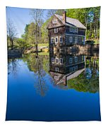 Blow Me Down Mill Cornish New Hampshire Tapestry