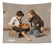 Blowing Bubbles Tapestry