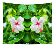 Blowing In The Breeze Mirror Image Tapestry
