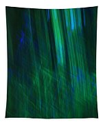Blue And Green Abstract Tapestry