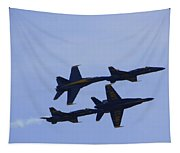 Blue Angels 10 Tapestry