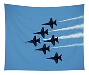 Blue Angels 4 Tapestry