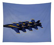 Blue Angels 6 Tapestry