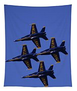 Blue Angels Tapestry