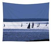 Blue Armada II Tapestry