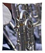 Blue Band Brass Tapestry
