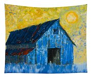 Blue Barn Number One Tapestry