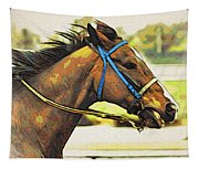 Blue Bridle Tapestry