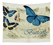 Blue Butterfly - S01a Tapestry