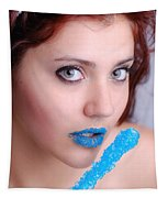 Blue Candy Tapestry