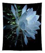 Blue Cereus Tapestry