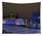 Blue Christmas.. Tapestry